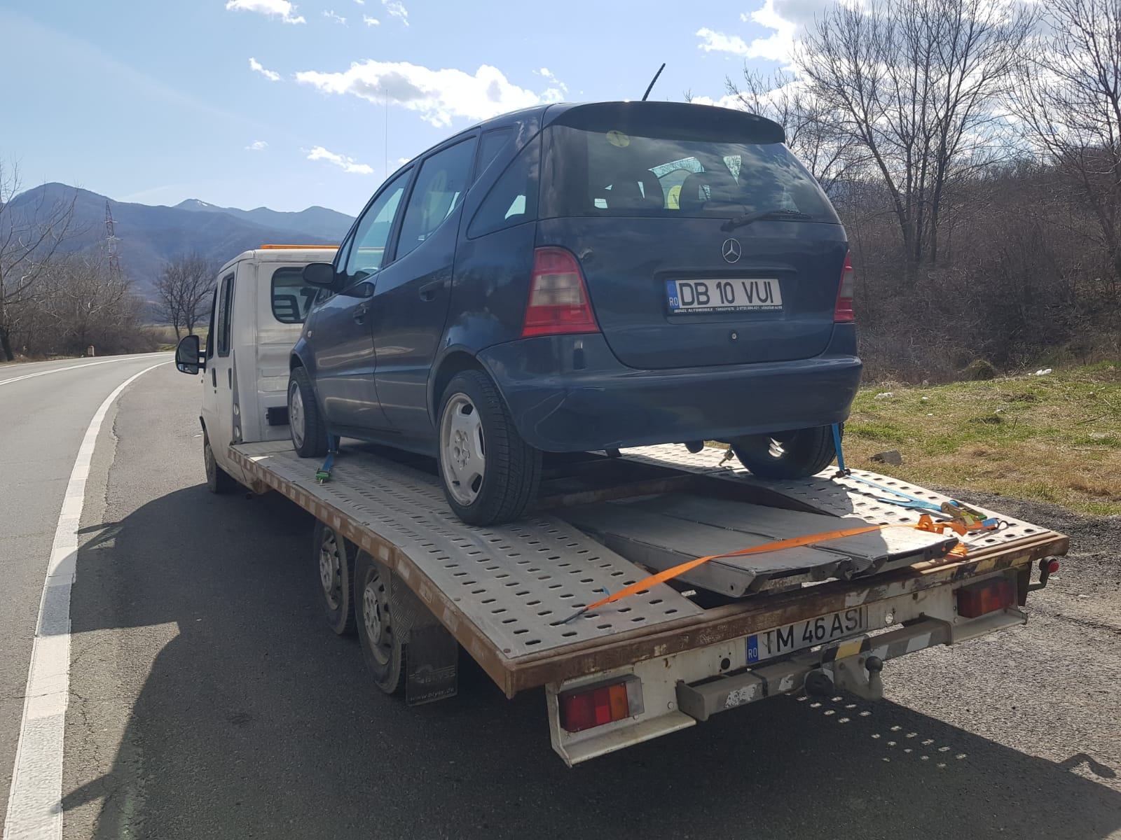 tractari auto Sibiu - Luca Assistance Auto