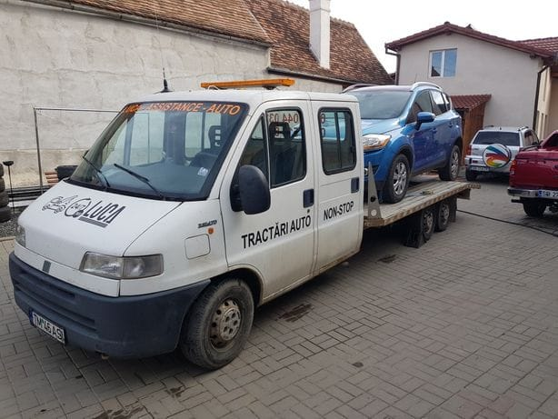 Remorcare rulote Roşia Sibiu