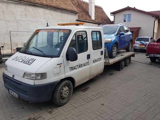 Tractare remorci Copşa Mică Sibiu