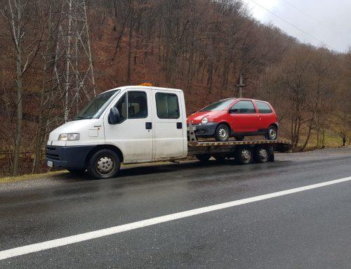 Tractari non stop Tălmaciu